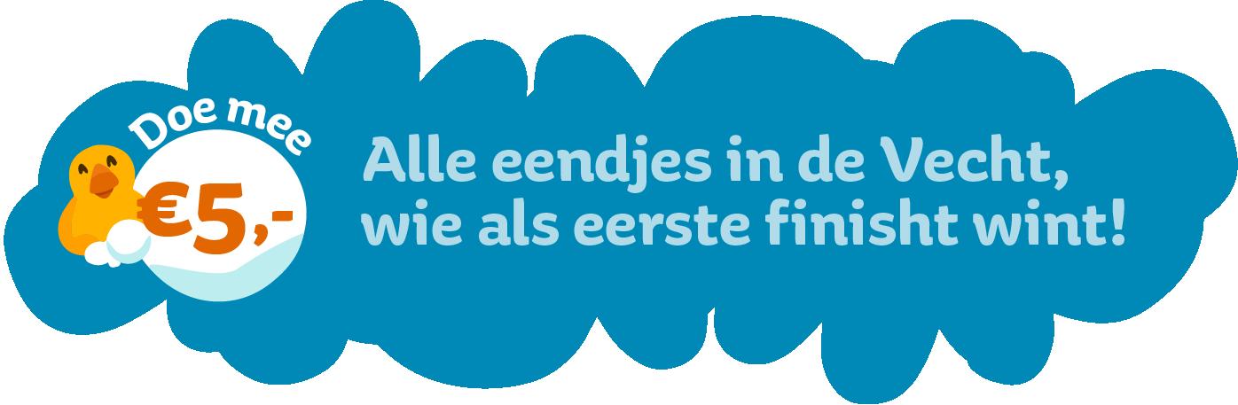 Koop een eendje voor €5,- en maak kans op 400 euro belastingvrij!